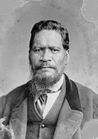 Karaitiana Takamoana, 1870s