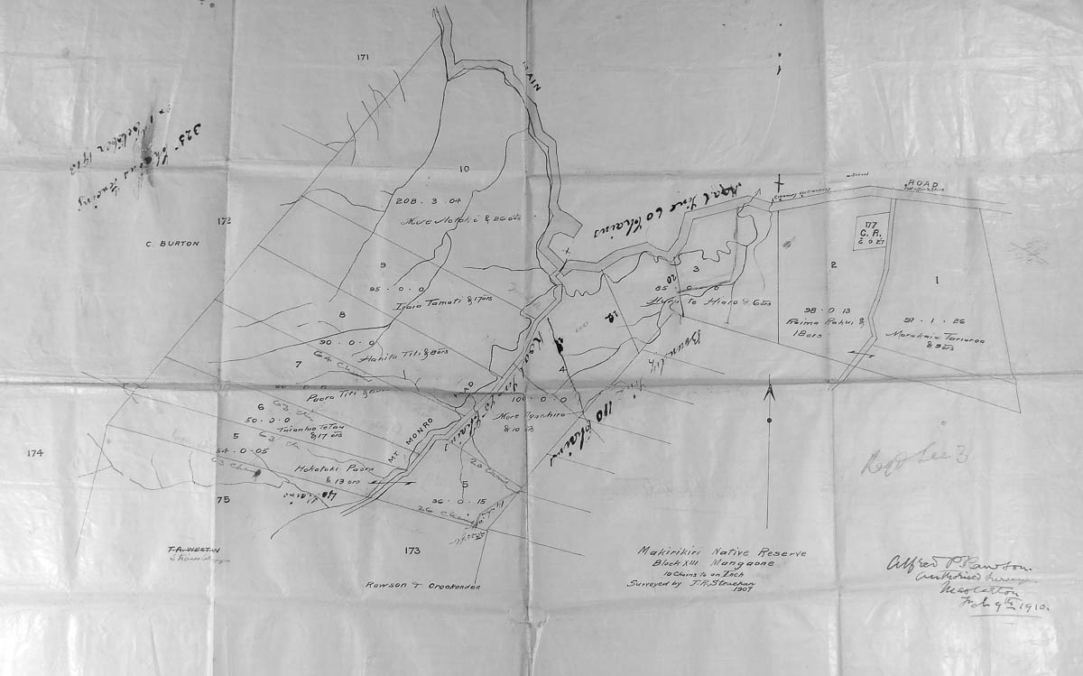 map-Makirikiri (Wai Archives)